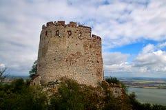 老城堡废墟-巴甫洛夫 库存图片