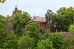 老城堡废墟 免版税库存图片