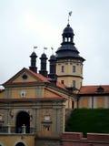 老城堡的主要门面 库存图片