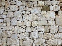 老城堡石墙纹理 库存图片