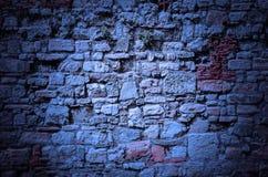 老城堡石墙背景-摘要 库存照片