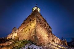 老城堡角度图 库存图片