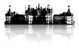 老城堡 库存照片