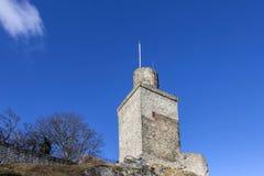 老城堡Falkenstein在Koenigstein 免版税库存图片