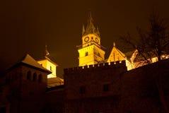 老城堡kremnica 免版税图库摄影