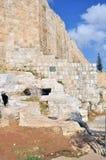 老耶路撒冷圣殿山 库存照片
