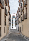 老城市在西班牙莫雷利亚 免版税库存照片