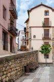 老城市在西班牙莫雷利亚 图库摄影