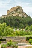 老城市在西班牙莫雷利亚 库存图片