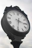 老城市时钟 免版税库存图片