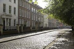 老城市街道 图库摄影