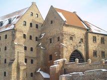 老城市- Grudziadz 免版税图库摄影