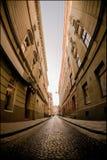 老城市视图 库存照片