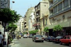老城市, Beyruth,黎巴嫩 免版税库存照片