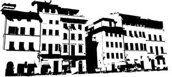 老城市 库存图片