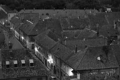 老城市 库存照片