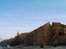 老城市- Grudziadz 免版税库存照片