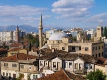 老城市Kaleici,安塔利亚,土耳其 免版税库存照片