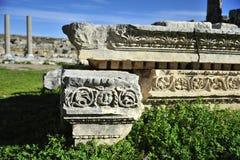 老城市Perga,土耳其 免版税库存图片