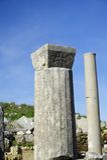 老城市Perga,土耳其 免版税库存照片