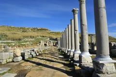 老城市Perga,土耳其 免版税图库摄影