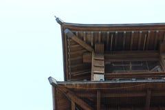 老城楼日本 库存图片