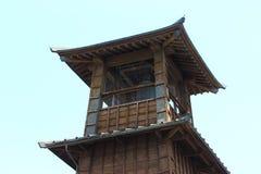 老城楼日本 库存照片