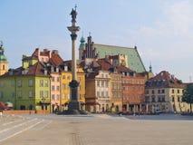 老城镇华沙 免版税库存照片
