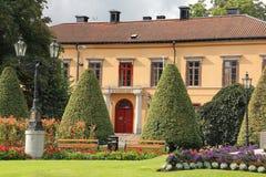 老城镇厅。诺尔雪平。瑞典 免版税库存图片