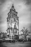 老城镇厅在克拉科夫,波兰 库存图片