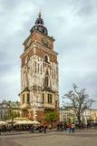 老城镇厅在克拉科夫,波兰 免版税库存图片
