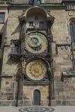 老城镇厅在布拉格 库存图片