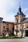 老城镇厅,马德里 免版税库存图片