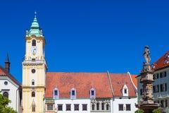 布拉索夫,斯洛伐克共和国 免版税库存图片