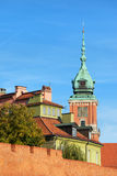 老城镇在华沙 库存照片