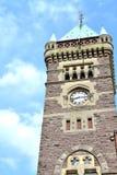 老城镇塔 免版税库存图片
