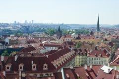 老城镇布拉格视图  免版税库存照片