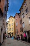老城镇斯德哥尔摩 免版税库存照片