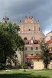 老城镇维尔纽斯 库存照片