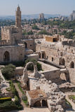 老城镇耶路撒冷 库存图片