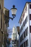 老城镇苏黎世 免版税库存图片