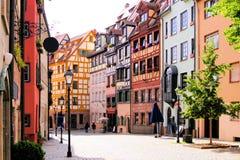老城镇,纽伦堡 免版税图库摄影
