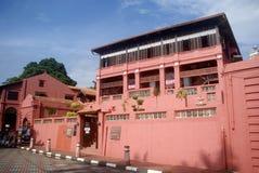 老城镇, Melaka,马来西亚 库存照片