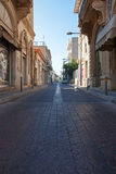 老城镇 利马索尔Lemesos,塞浦路斯 免版税库存照片