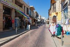 老城镇 利马索尔Lemesos,塞浦路斯 免版税库存图片