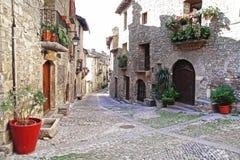 老城镇 西班牙 库存图片