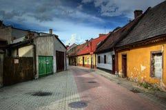 老城镇 图库摄影