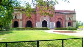 老堡垒在德里 库存图片
