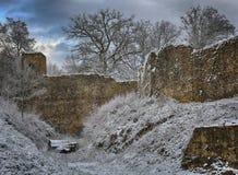 老堡垒在阿尔登 库存图片