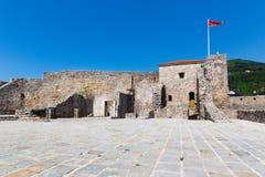老堡垒在黑山 免版税图库摄影